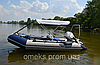 Надувная килевая моторная лодка (с алюмин. пайолом) Профи KDB КМ-360Д / 04-498