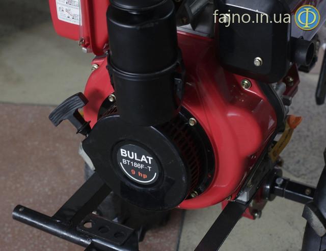 Дизельный мотоблок Булат 1100В фото 2