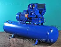 Компрессорная установка ЭПКУ-3,5/7 (с 800 литровым ресивером)