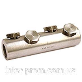 Соединитель болтовой 4СБ-2 70/120  (на 4 болтах)для алюм.и медн. жил, фото 2