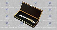 Складной нож подарочный (эксклюзив) 7017 box рог горного оленя (складной) MHR /01-8
