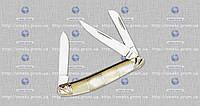 Складной нож подарочный (эксклюзив) 4216 YST ракушка-мрамор (складной) MHR /00-11