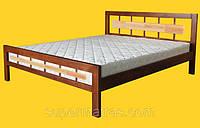 Кровать из натурального дерева Тис Модерн 3