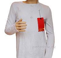 Блуза трикотажная Промiнь ВД-1528т белая 128