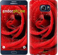 "Чехол на Samsung Galaxy Note 5 N920C Красная роза ""529u-127"""