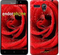 "Чехол на Lenovo A616 Красная роза ""529u-368"""