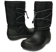 """Фирменные женские сапоги ТМ """"Crocs"""", оригинал, на 37 размер"""