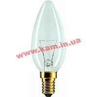 Лампочка PHILIPS E14 60W 230V B35 FR 1CT/ 10X10F (926000007720)