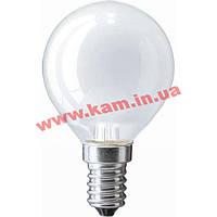 Лампочка PHILIPS E14 60W 230V P45 FR 1CT/ 10X10F Stan (926000003857)