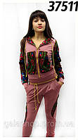 Спортивный костюм в стиле Матрешка из платка, французкий трикотаж, одежда для спорта и отдыха недорого