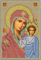Схема для вишивки бісером Божа Матір Казанська КМІ 5004