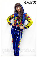 Велюровый спортивный костюм I love Matreshka, велюровый спортивный костюм недорого опт и розница