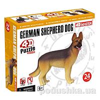 Объемный пазл 4D Master Собака Немецкая овчарка 26486