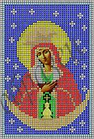 Схема для вышивки бисером Пресвятая Богородица Остробрамская КМИ 5019