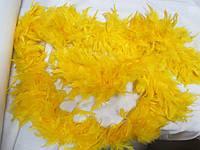 Боа 1,8 м 70 грамм жовтий гарячий