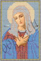 Схема для вышивки бисером Божия Матерь Умиление КМИ 5022
