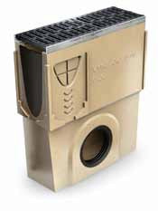 Пескоуловитель DN 200 с чугунной кромкой для канала ACO Multiline V 150