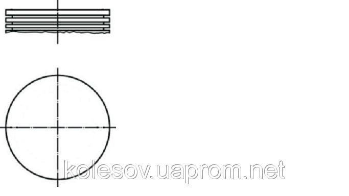 Поршни FORD Scorpio (Granada, Capri, Taunus, Sierra) 2,0 OHC д.90,8мм