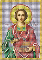Схема для вышивки бисером Св. Вчк Целитель Пантелеймон КМИ 5033