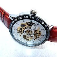 Мужские механические часы скелетон Слава С4587, фото 1