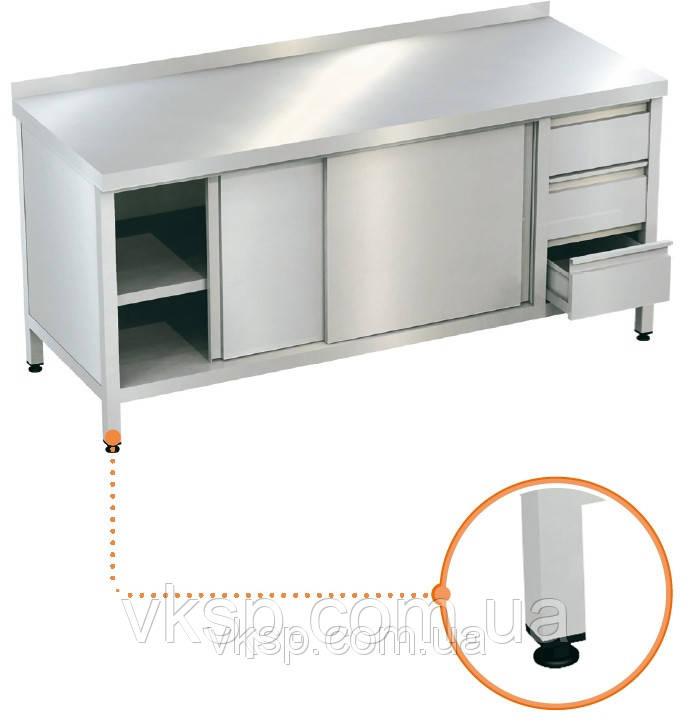 Шкаф-стол с ящиками