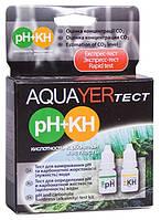 AQUAER тест pH+KH