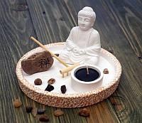 """Сад камней дзен """"Белый Будда"""""""
