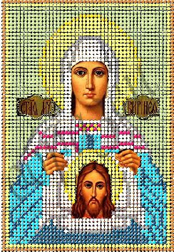 Схема для вышивки бисером Св. Мученица Вероника КМИ 5112