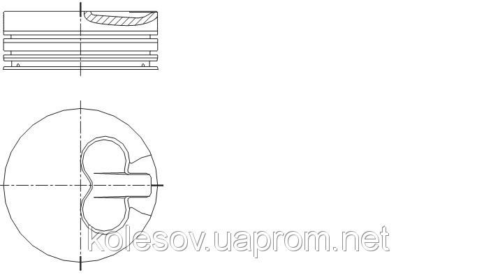 Поршні FORD Mondeo (Escort, Sierra) 1.8 TD