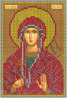 Схема для вышивки бисером Св.Дарья КМИ 5115