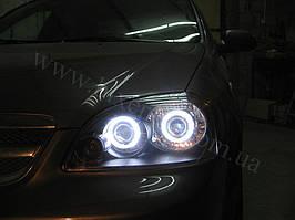 4 линзы G5 с глазами на Chevrolet Lacetti Sedan 4