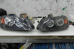 Установка линз G5 на Nissan Almera 1