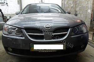 Установка линз G5 на Nissan Almera 3