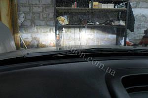 Установка линз G5 на Nissan Almera 6