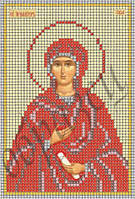 Схема для вышивки бисером Св.Ева КМИ 5116