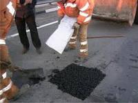 Ямочный ремонт дорог струйной машиной
