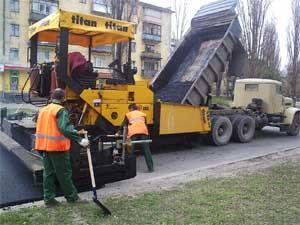 Укрепление дорожного покрытия, укрепление дорог | Днепропетровск
