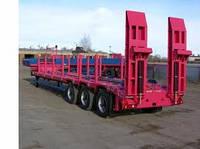 Услуги трала для перевозки крупногабаритных грузов по Украине