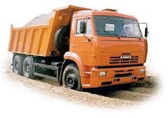 Доставка сыпучих грузов:щебень, песок, шлак, грунт, асфальтобетон