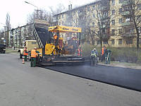 Асфальтирование дорог, укладка ЩМА