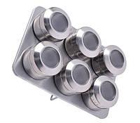 Набор для специй Bohmann BH 7817 6 баночек на магните