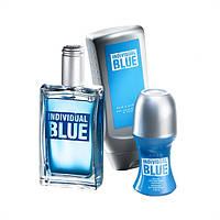 Набор Individual Blue, Avon, Эйвон Индивидуал Блу, мужской подарочный набор
