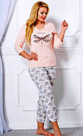 Пижама женская Felicja  большой размер, 3ХL/54, TM Taro