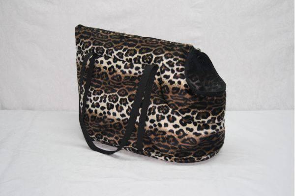 Сумка-переноска Леопард для котов и собак, фото 2