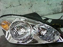 Установка биксеноновых линз G5 с глазами с покраской накладок на Kia Ceed 1