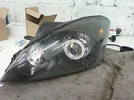 Установка биксеноновых линз G5 с глазами с покраской накладок на Kia Ceed 7