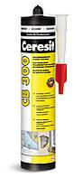 Клей-герметик на основе полимера Ceresit CB 300 (Белый), 400 гр.