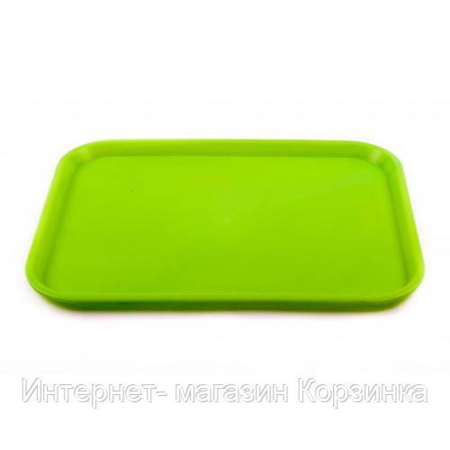 Поднос (размер 44х34 см, материал пластмасса, цвета в ассортименте, Украина)