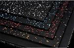 Резиновые маты для тренажерных залов Eco Sport 1750х1200х7 мм