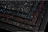 Резиновые маты для тренажерных залов Eco Sport 1750х1200х7 (10) мм